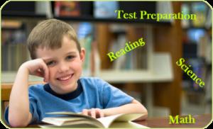 child reading, tutoring, test prep